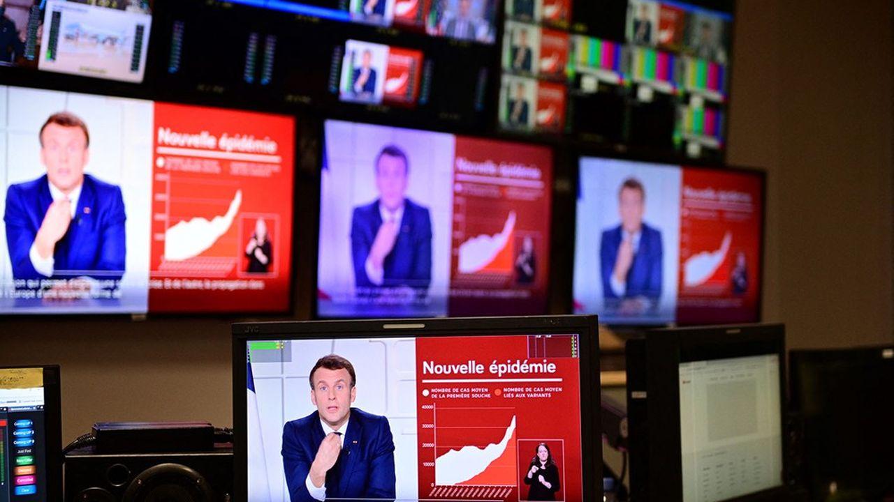 La France va «vacciner, vacciner, vacciner», a promis Emmanuel Macron mercredi soir à l'occasion de sa septième allocution télévisée depuis le début de la crise sanitaire, il y a un an.