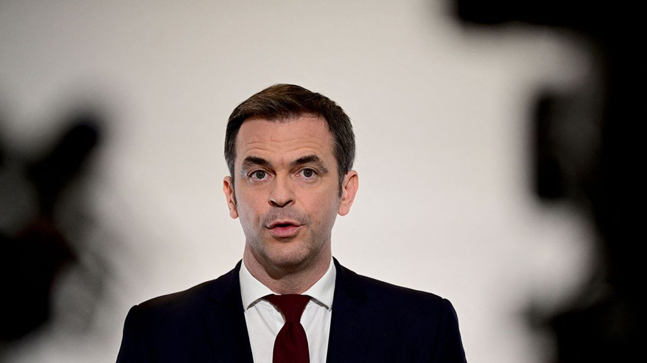 Le ministre de la Santé, Olivier Véran, s'attend à 10.000 lits occupés en réanimation du fait de l'épidémie de Covid vers la fin avril.