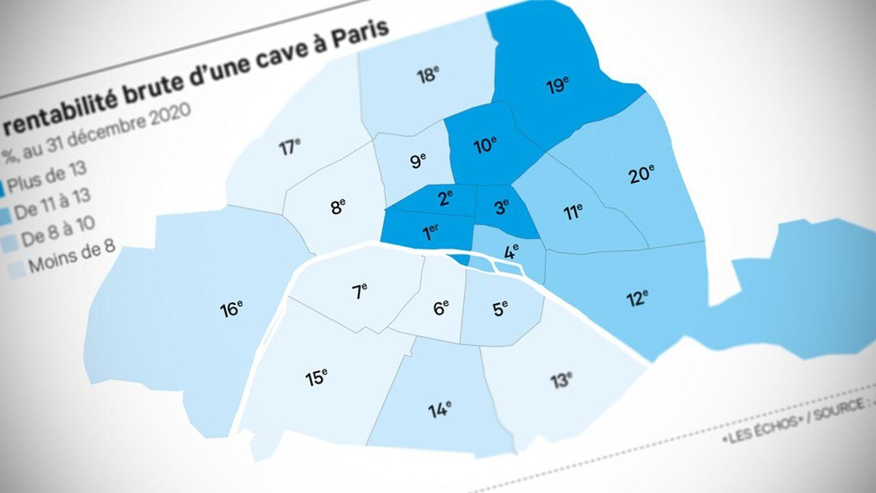 Après une hausse en 2019, les prix locatifs parisiens se sont stabilisés autour de 19euros le mètre carré en 2020.