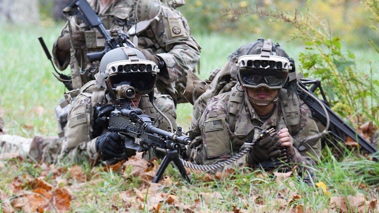 Le système IVAS intègre des lunettes de réalité augmentée aux casques des soldats américains.