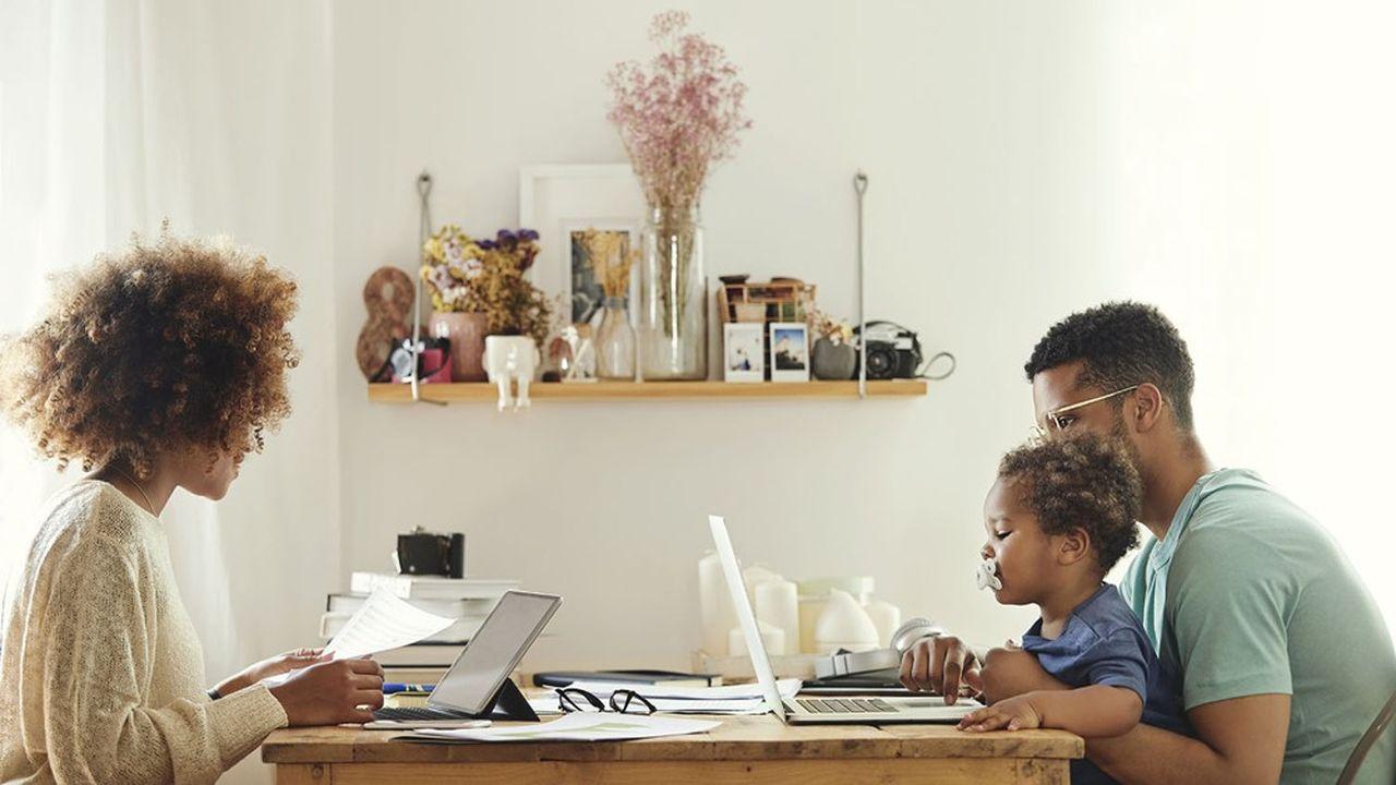 La présence des enfants à la maison complique fortement le télétravail, en particulier lorsqu'ils sont jeunes.