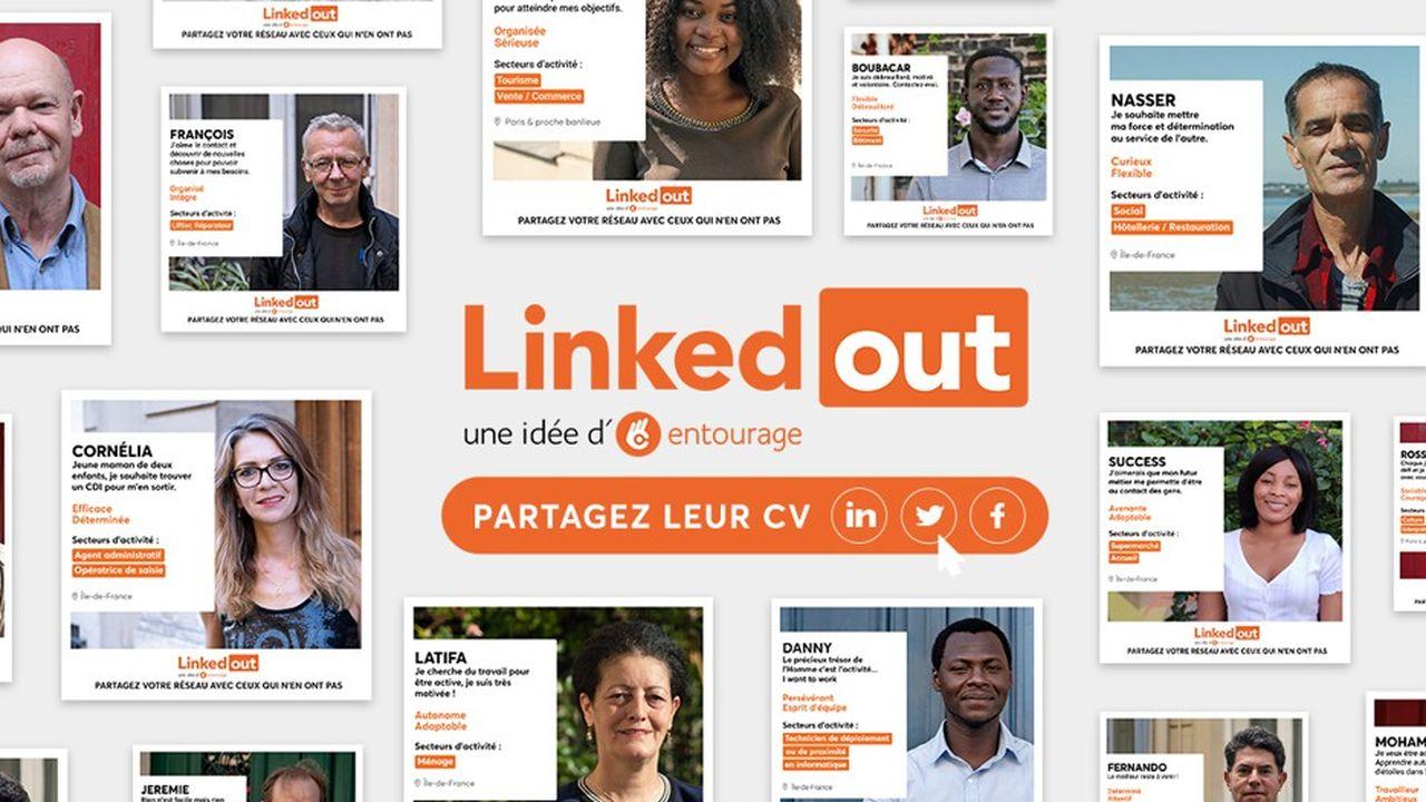 Sur 80 candidats, 42 ont retrouvé un emploi via LinkedOut, aidés par leurs coachs bénévoles.