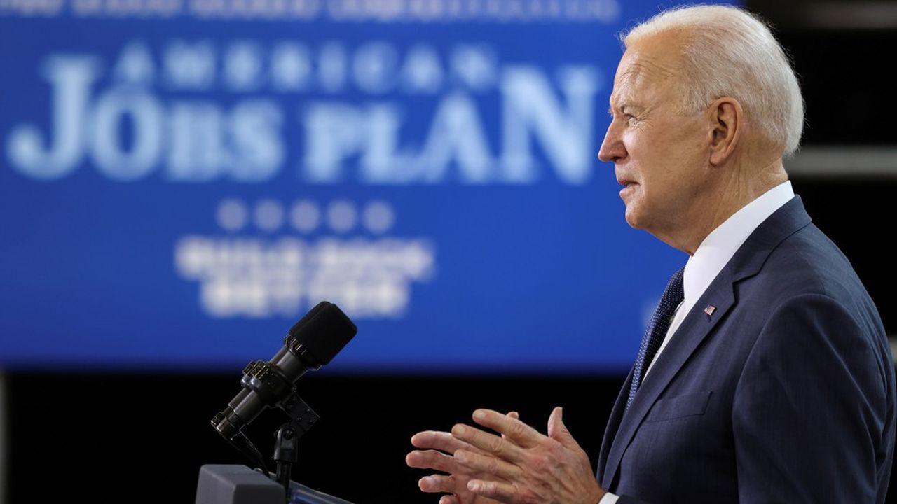 Joe Biden a proposé à Pittsburgh plus de 2.000milliards de dollars d'investissement dans les infrastructures.