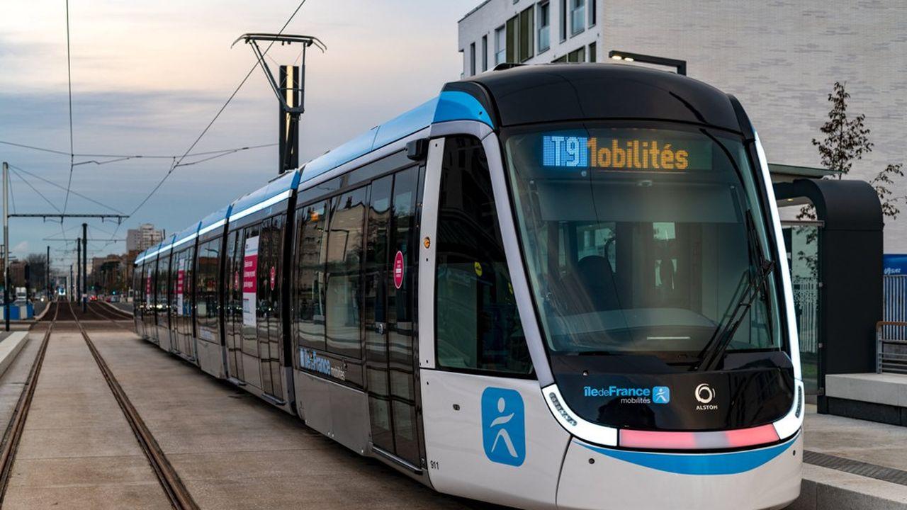 Le Tram 9 reliera la porte de Choisy à Paris au centre-ville d'Orly (Val de Marne)