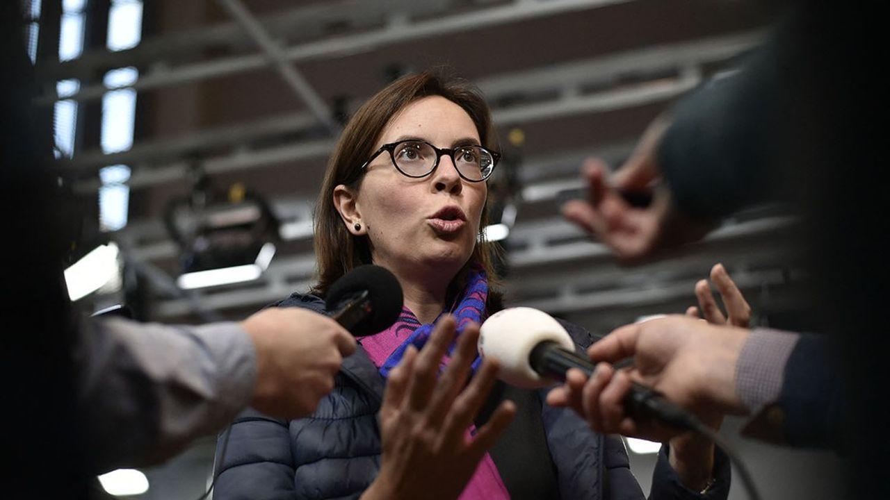 La ministre de la transformation de la Fonction publique, Amélie de Montchalin.