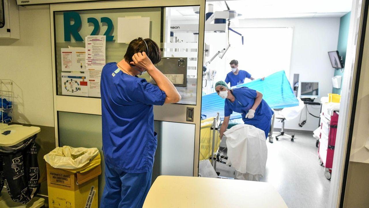 La France compte 5.254 patients en réanimation à cause du Covid.