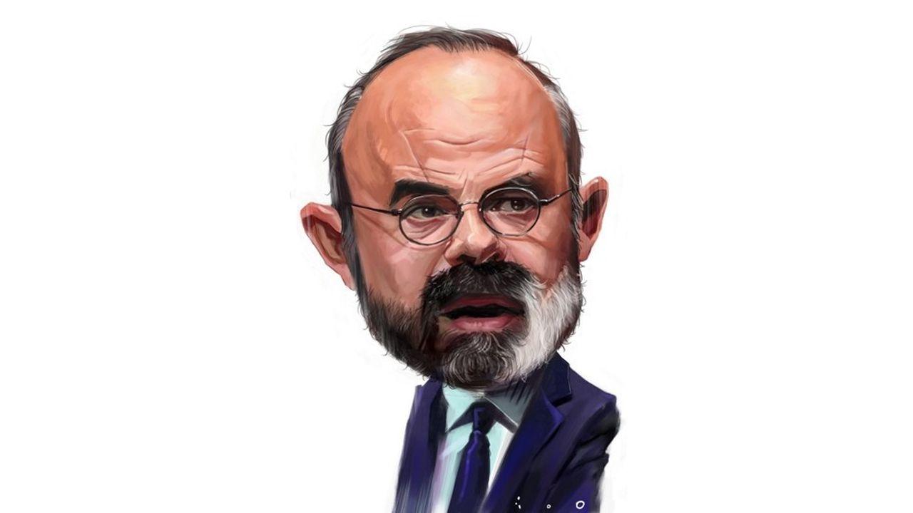 caricature par ïoO, pour «Les Echos»