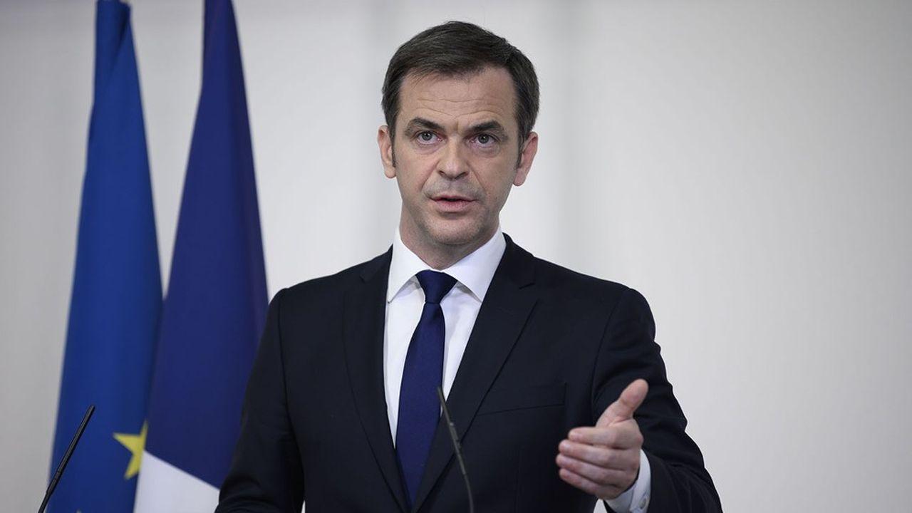 Le ministre de la Santé, Olivier Véran, envisage un pic à 10.000 lits de réanimation, y compris non-Covid, vers la fin avril.