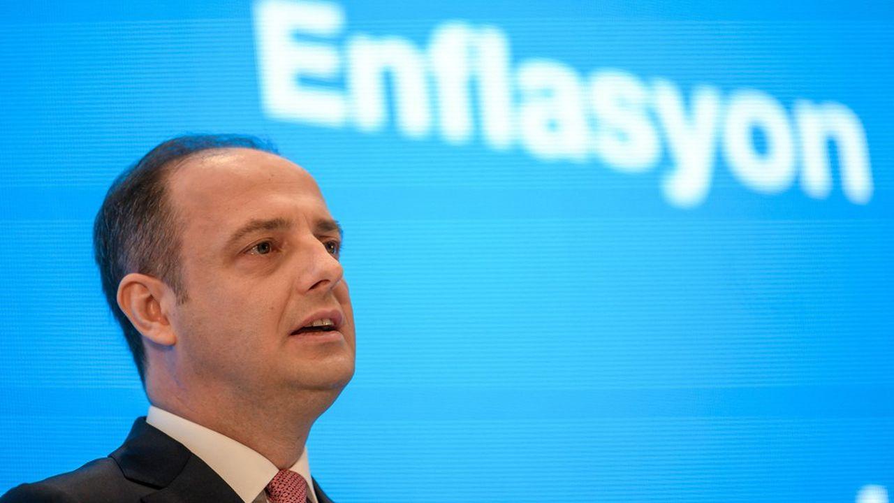 Murat Cetinkaya, vice-gouverneur de la banque centrale turque, a été limogé moins de deux semaines après son patron.