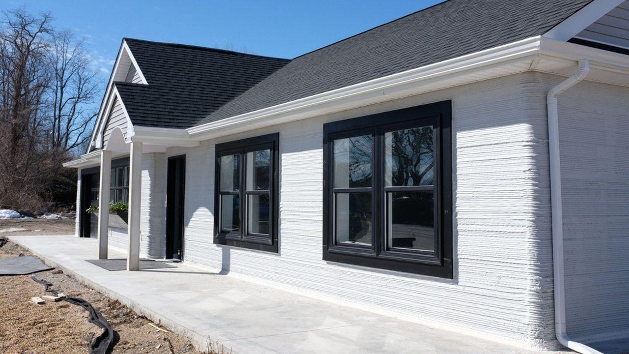 SQ4D a imprimé son premier prototype de maison fin 2019 à Long Island, près de New York.
