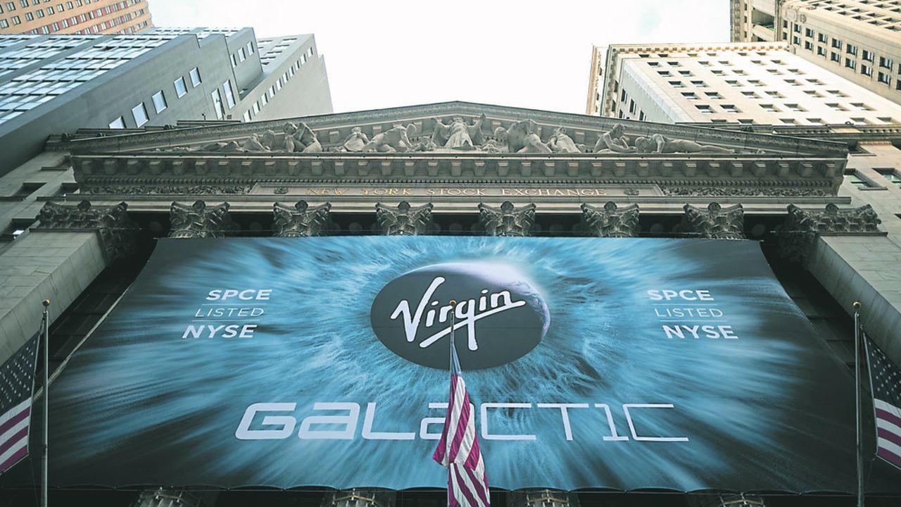 Deux ans après son introduction en Bourse via un SPAC, Virgin Galactic, la société de tourisme spatial de Richard Branson, est valorisée 6,4milliards, contre 1,4milliard il y a deux ans.
