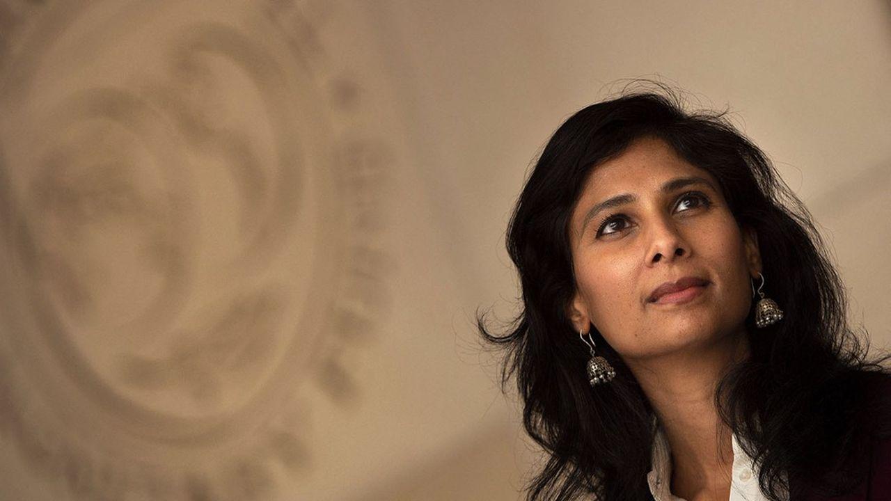 Gita Gopinath, économiste en chef du FMI, estime que la sortie de crise est de plus en plus visible.