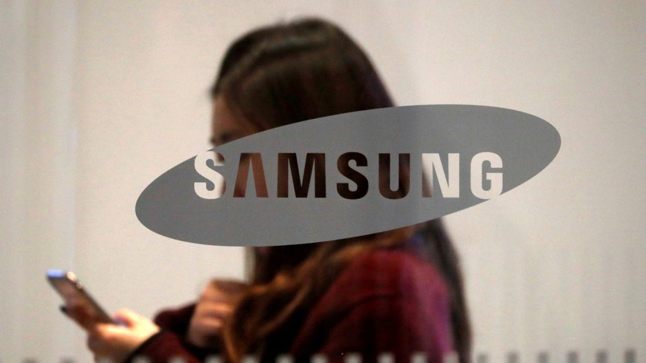 Samsung a réalisé près de 50milliards d'euros de ventes au premier trimestre.