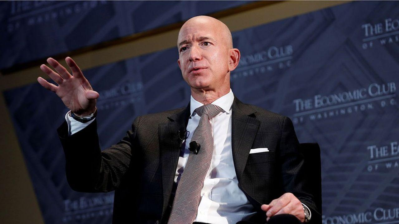 «Nous soutenons une hausse de l'impôt sur les sociétés», écrit mot pour mot Jeff Bezos dans un communiqué.