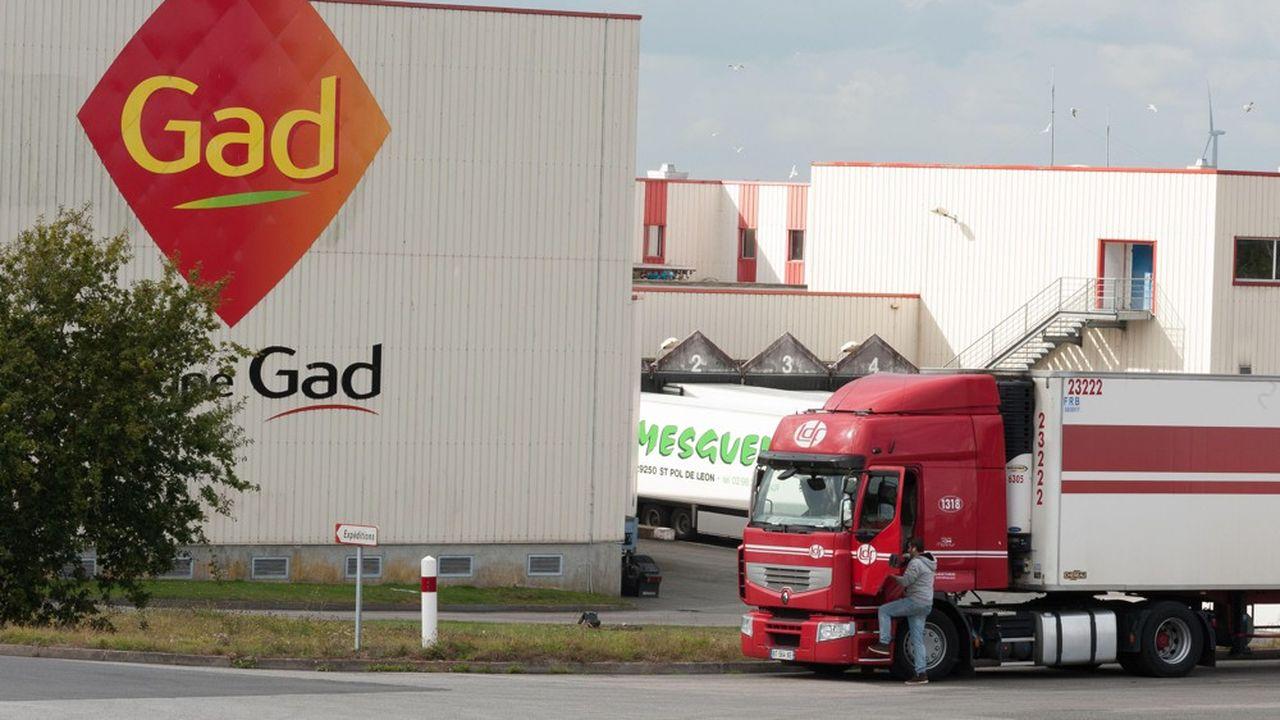 L'industriel va acheter à l'Etablissement public foncier de Bretagne les 40.000 m² de l'ex-usine de transformation porcine Gad située dans la petite commune de Lampaul-Guimiliau.
