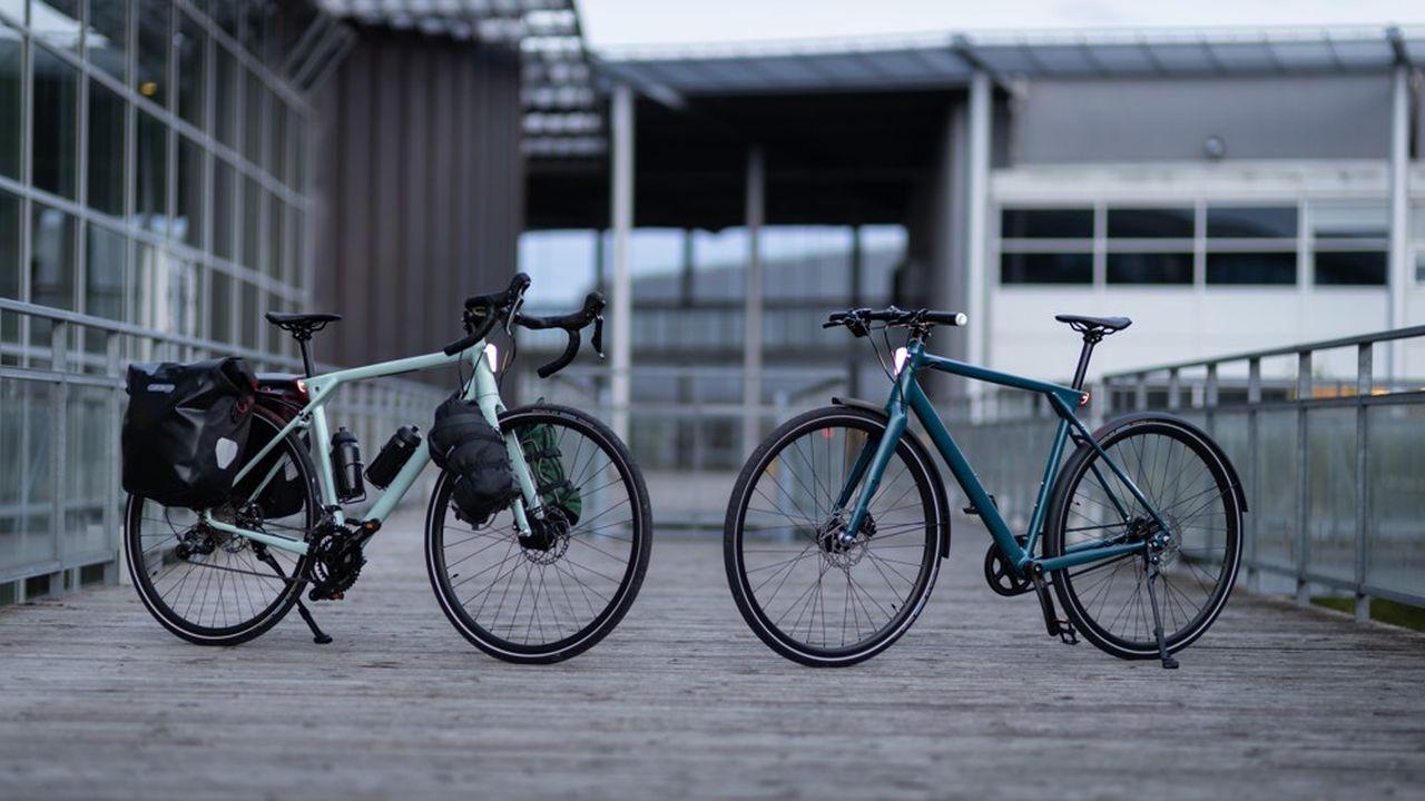 Robin Gabuthy, Florian Prieur et Paul Lepoutre ont fondé en 2020 la société Ellipse. Alors que le vélo électrique est en plein boom, ils font le pari du vélo musculaire.