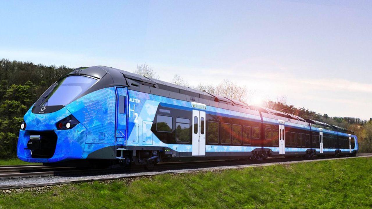 Les 12 rames commandées à Alstom serviront de démonstrateur, avant d'envisager une variante plus légère et moins chère à exploiter.