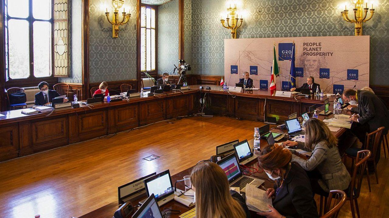 Réunis sous la présidence de leur homologue italien, les ministres des finances du G20 veulent accroître l'aide aux pays les plus pauvres.