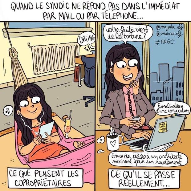 A côté de son métier de gestionnaire de syndic, Maïssa Gargouri est avec sa soeur Mayada, dessinatrice de bandes dessinées.