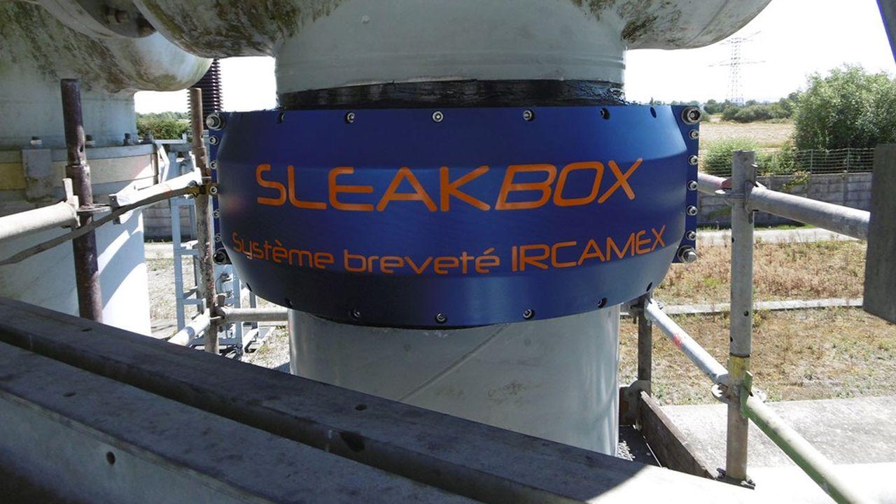 Sleakbox, le système de confinement breveté de la société nantaise Ircamex.