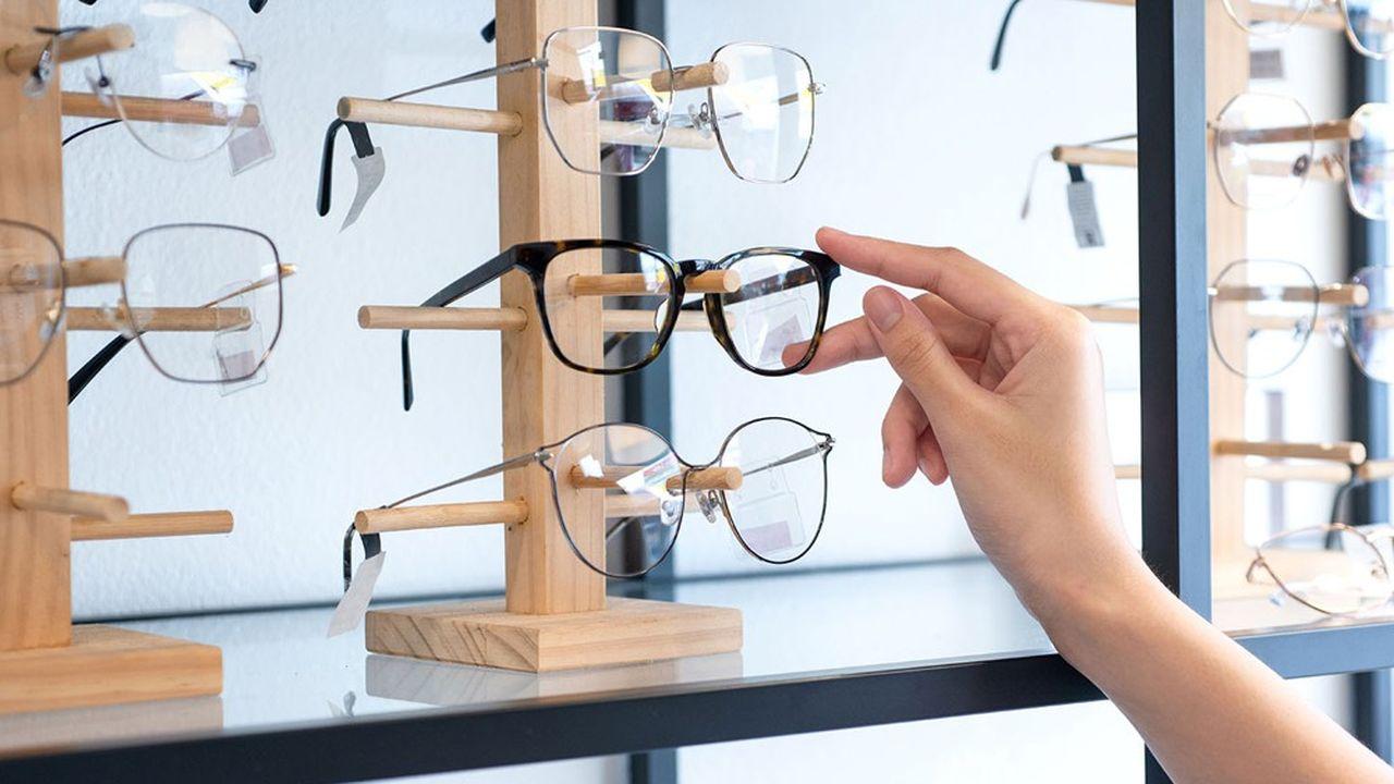 Les opticiens français vendent désormais environ 15% de leurs lunettes grâce au dispositif 100% santé.