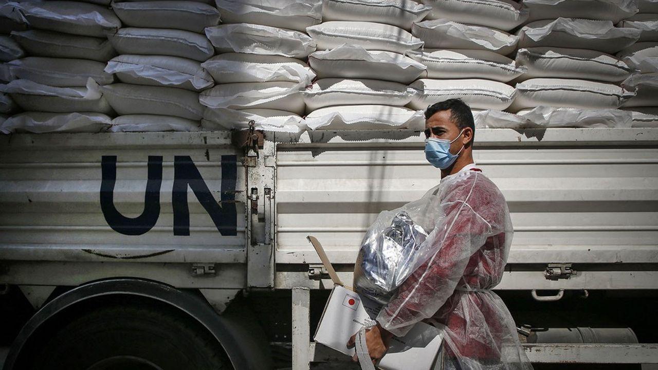 L'Agence de l'ONU pour les réfugiés palestiniens (Unrwa), dont les Etats-Unis étaient autrefois le principal donateur, est confrontée à un manque à gagner depuis que Donald Trump a retiré ses fonds en 2018.