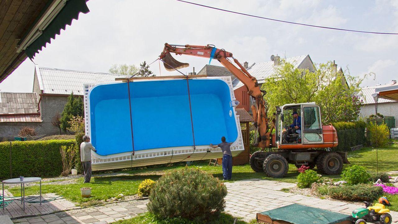 L'an dernier, 197.000bassins ont été installés en France dont 70.300piscines enterrées et 126.500hors sol.