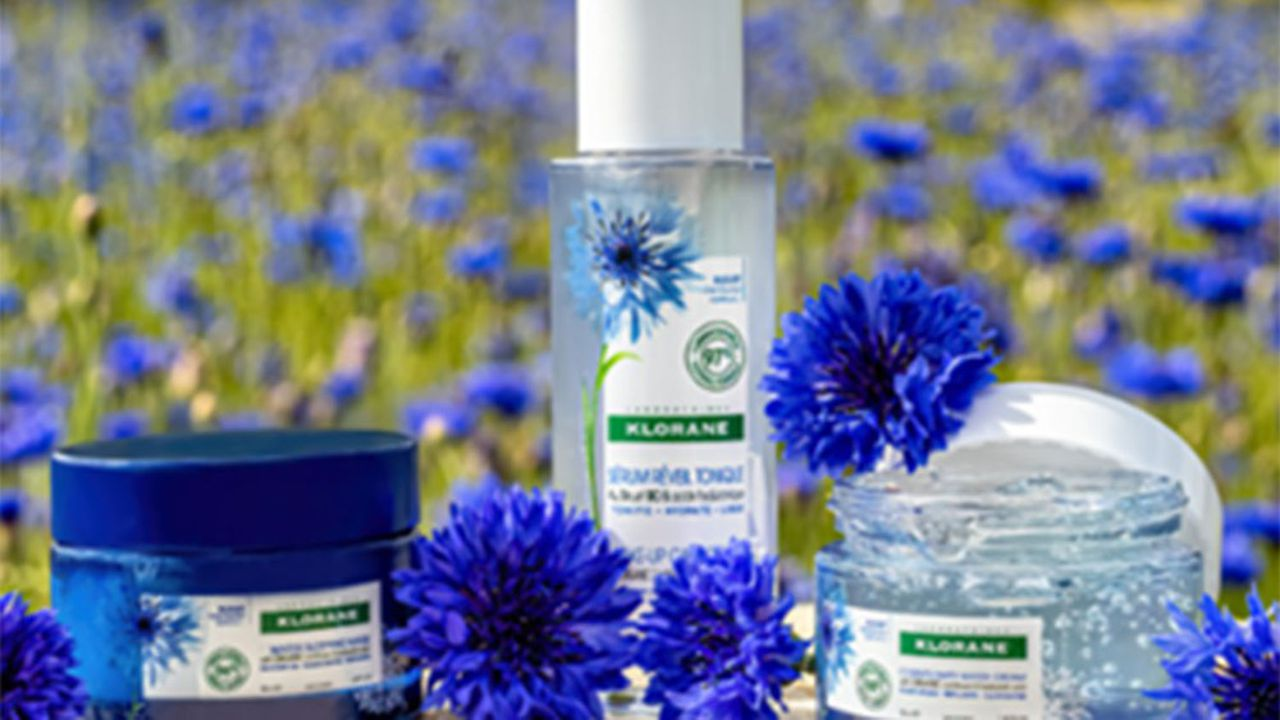 Pierre Fabre cultive, dans ses propres champs, plus d'un millier de plantes, dont le bleuet pour sa marque capillaire Klorane.