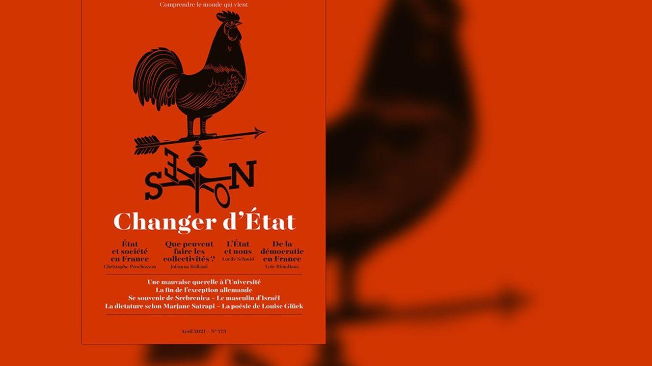 «Changer d'Etat», revue Esprit n°473, avril2021, 20euros.