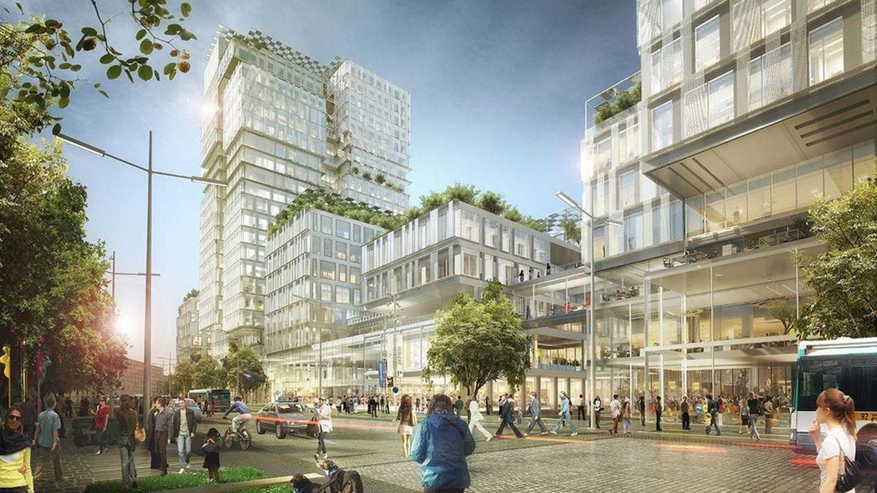 En 2022 doivent commencer des travaux pour transformer cette zone de 65 hectares en un quartier mixte, à quelques pas de La Défense