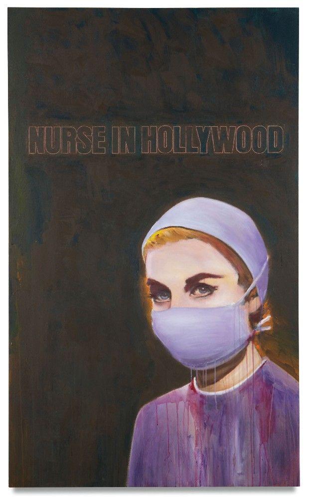 «Nurse in Hollywood #4» (2004) de Richard Prince.