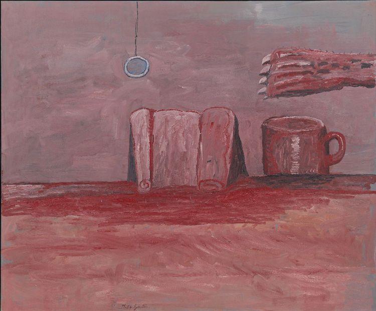 «Paw II» (1975), peinture de Philip Guston.