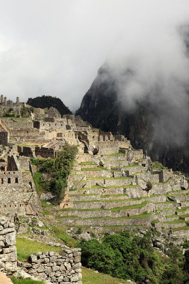 Le Machu Picchu, la citadelle sacrée des Incas, inscrite au patrimoine mondial de l'Unesco.