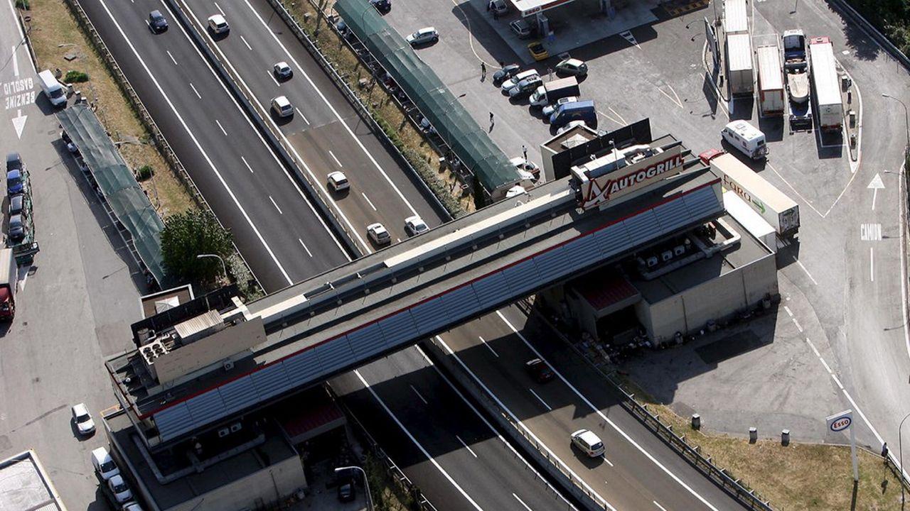 L'italien Aspi gère un réseau de 3.000kilomètres d'autoroutes dans la péninsule.