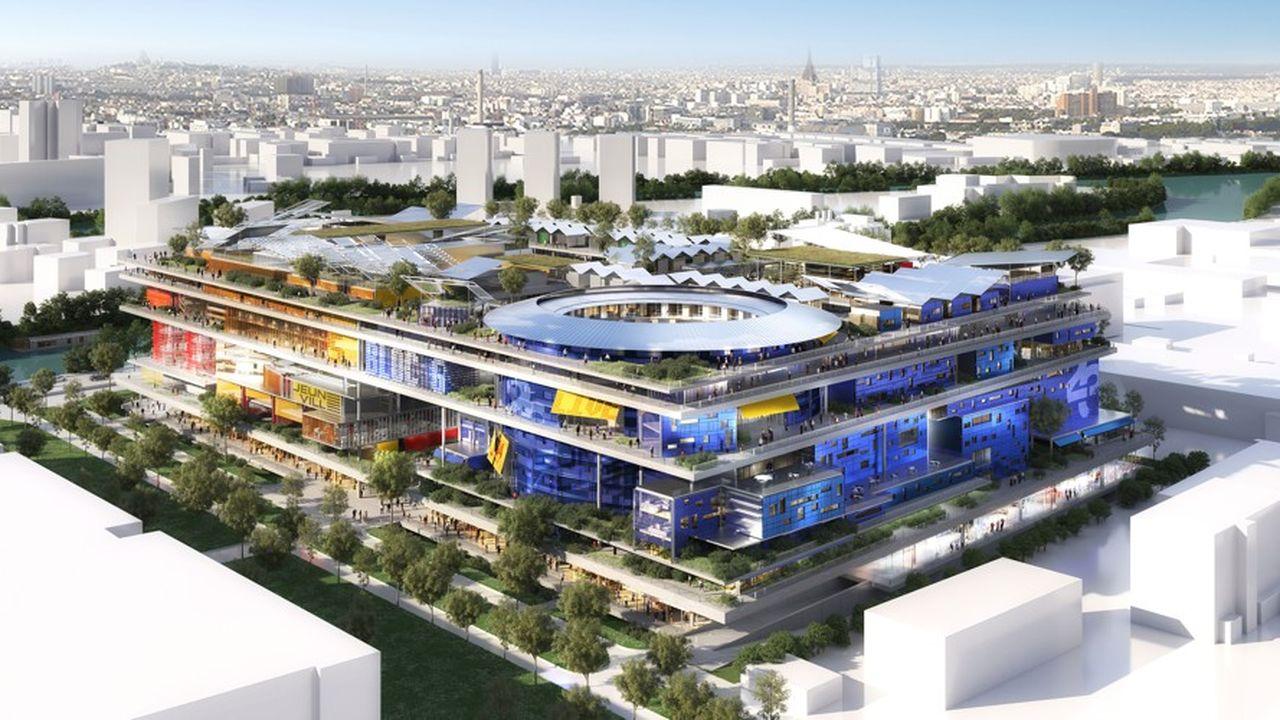 Le futur projet, élaboré par les Ateliers Jean Nouvel verra le jour à Gennevilliers dès 2025