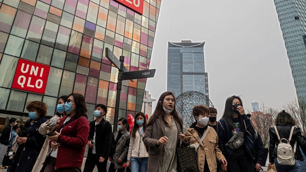 Uniqlo, qui s'est engagé à ne plus s'approvisionner en coton provenant du Xinjiang, fait partie des marques ciblées par une campagne de boycott en Chine.