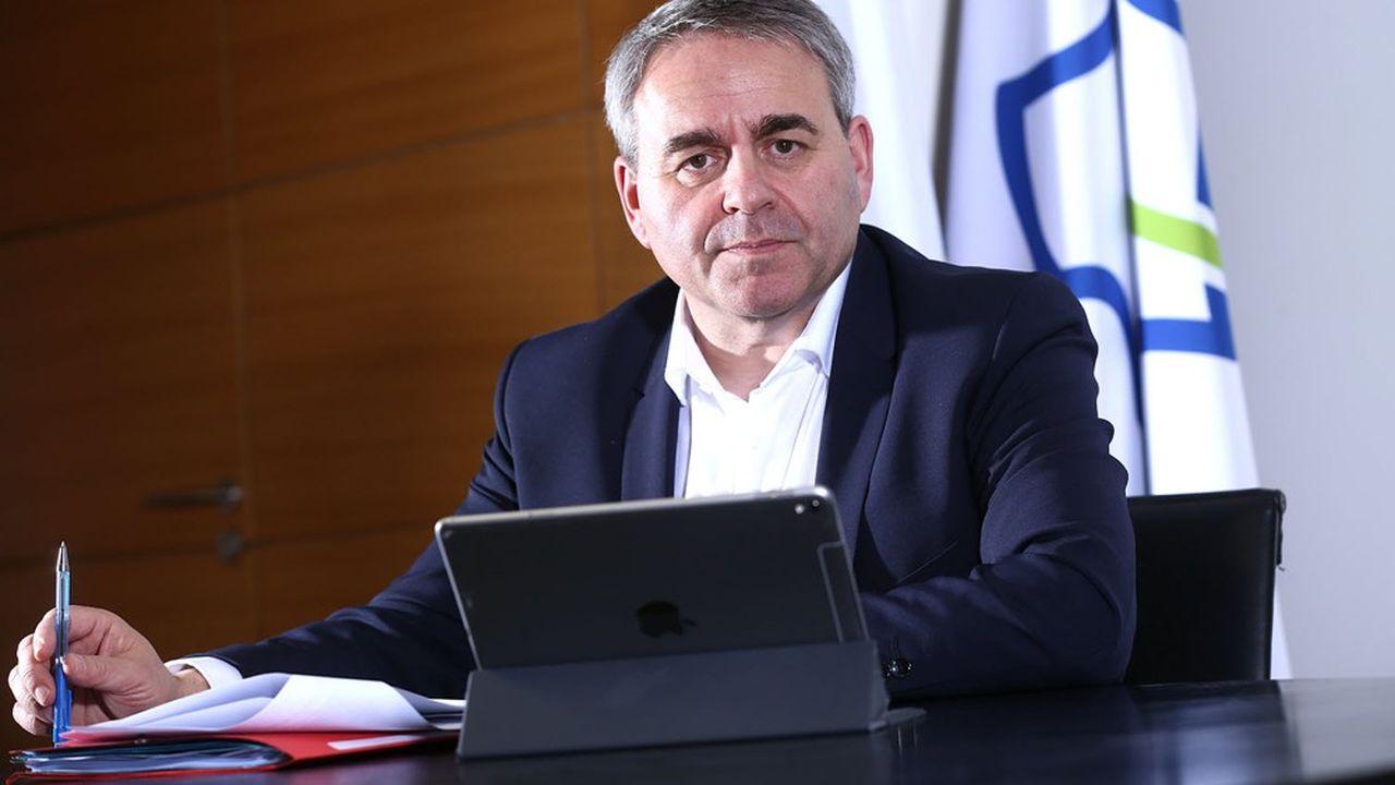 Xavier Bertrand: «Je veux réduire de moitié les impôts de production»