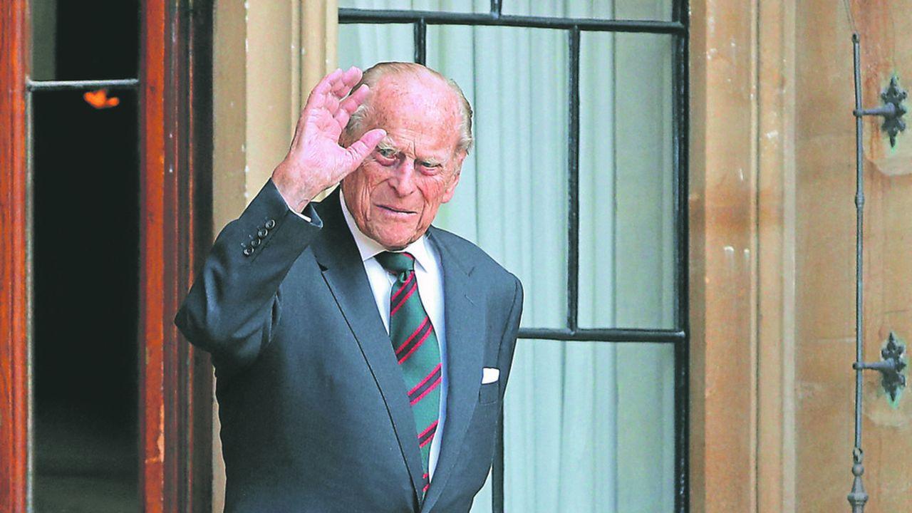 Le Prince Philip s'est éteint paisiblement vendredi