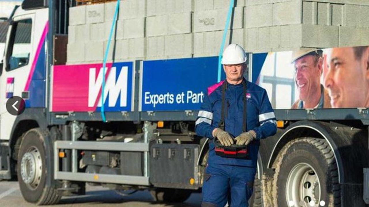Le chiffre d'affaires de VM Matériaux, l'activité négoce de matériaux de construction du groupe Herige, a atteint337,7millions d'euros en 2020.