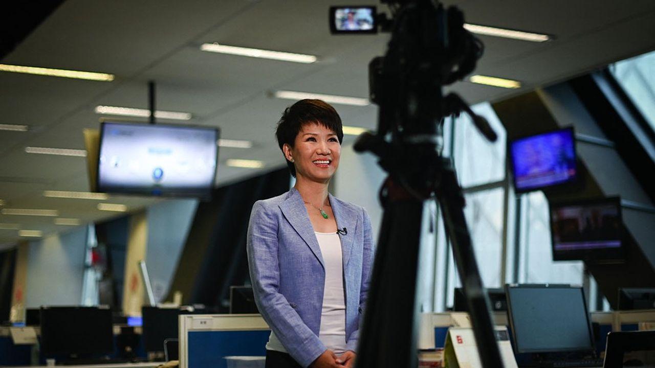 La chaîne publique chinoise CGTN est déclinée en cinqlangues, dont le français.