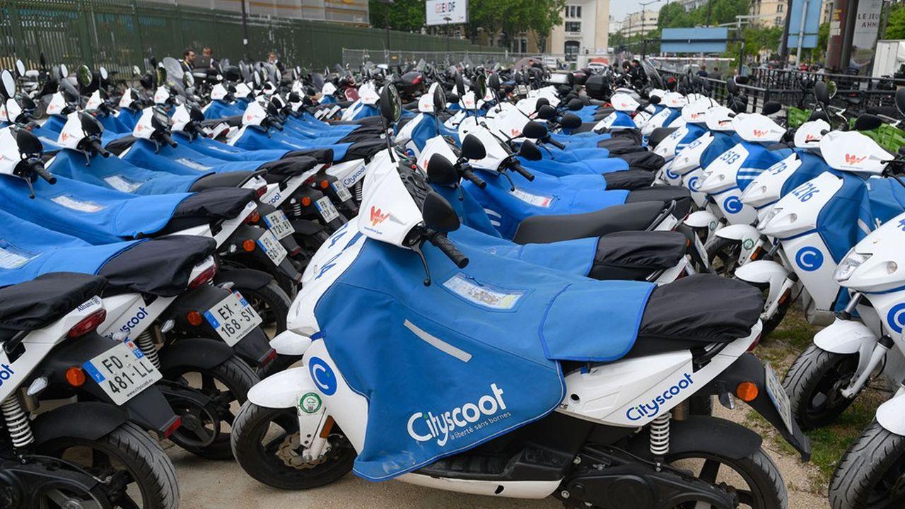 A l'image de Cityscoot, les acteurs du «free floating» espèrent gagner de nouveaux clients avec le forfait mobilités durables.