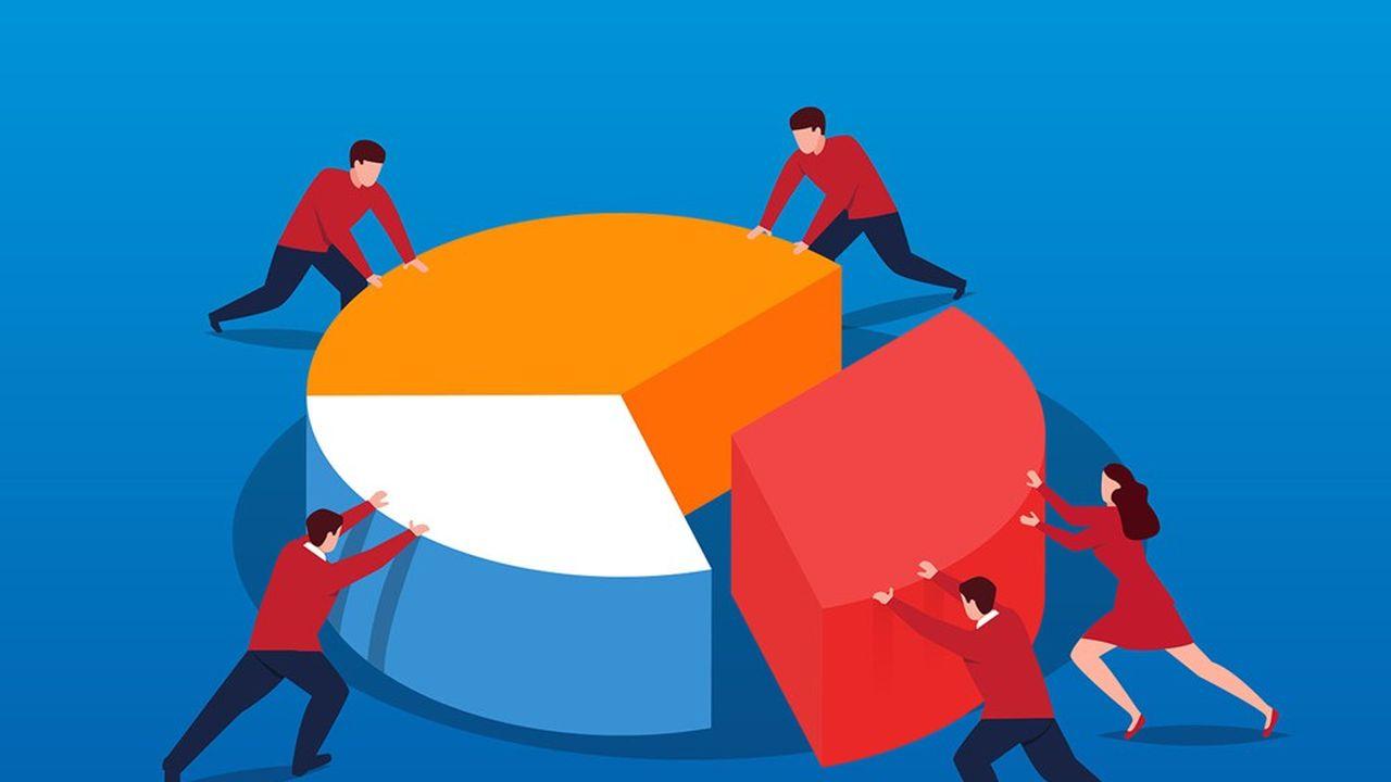 Le forfait social, une charge pour l'employeur, passe de 20% à 10% pour les entreprises de plus de 50 salariés qui décident d'abonder un FCPE pour aider les salariés à devenir actionnaires.