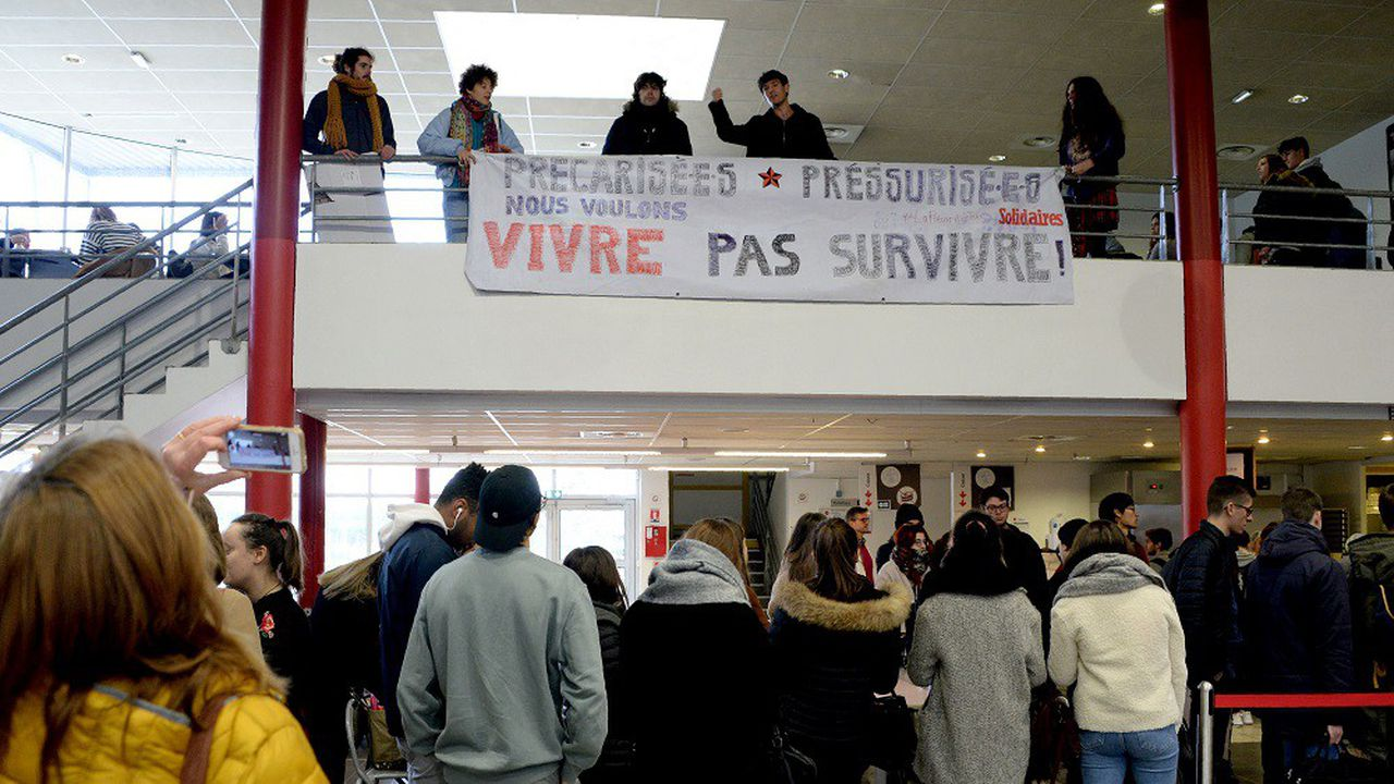 Comme partout en France, le taux de précarité chez les jeunes de Gironde a augmenté avec la crise.