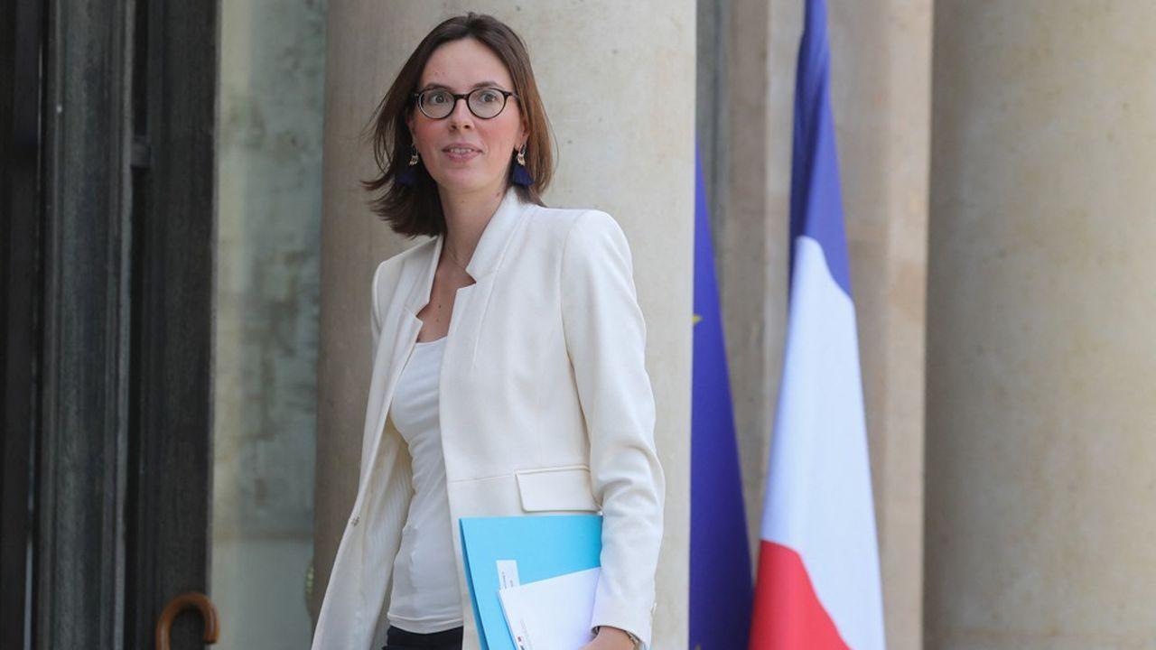 La ministre de la Transformation et de la Fonction publiques, Amélie de Montchalin.
