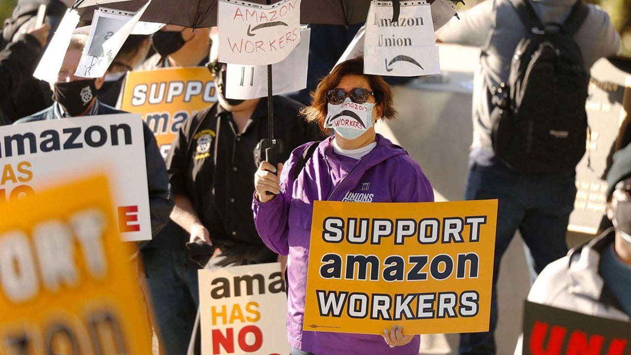 En fin de semaine dernière, des salariés d'un entrepôt d'Amazon, situé à Bessemer (Alabama), se sont prononcés contre la création d'une section syndicale sur ce site.