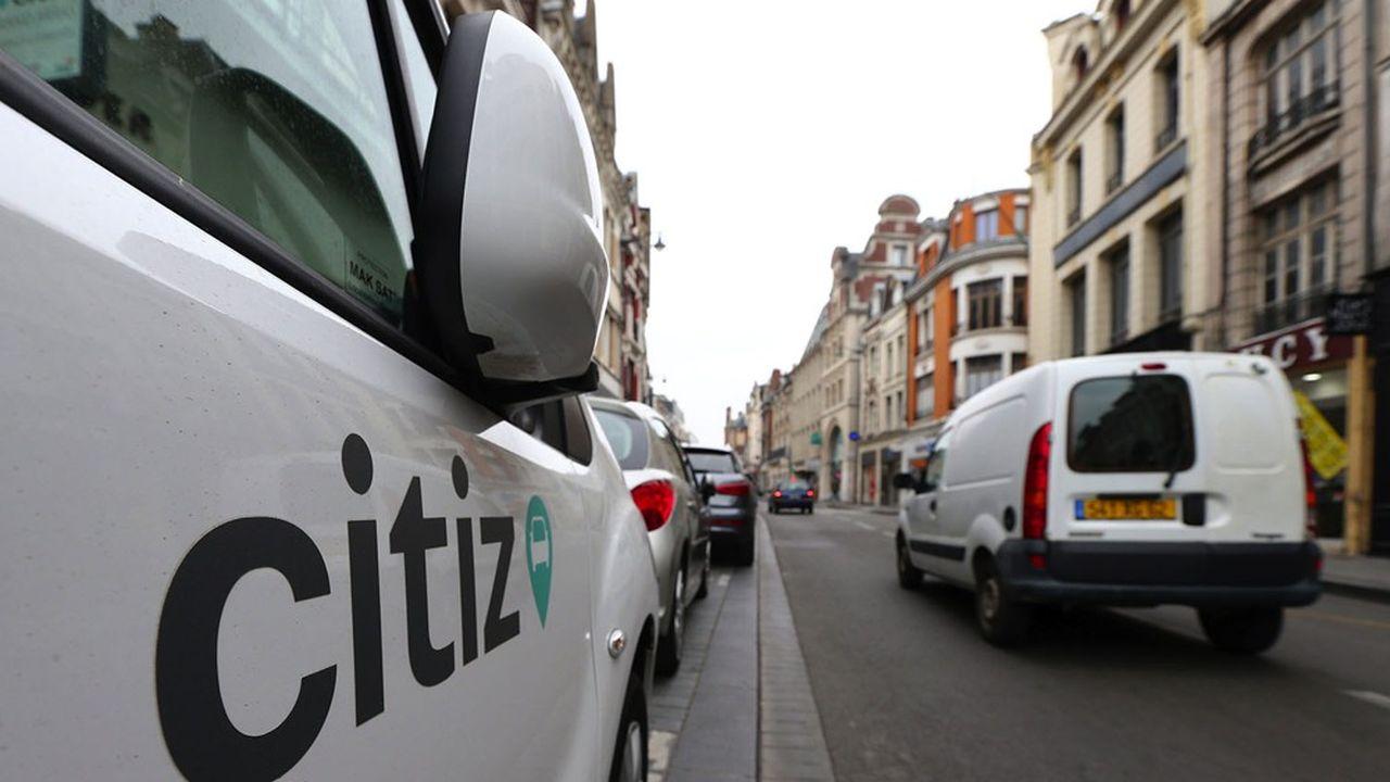 Le réseau Citiz de location d'utilitaires est l'une des pistes étudiées.