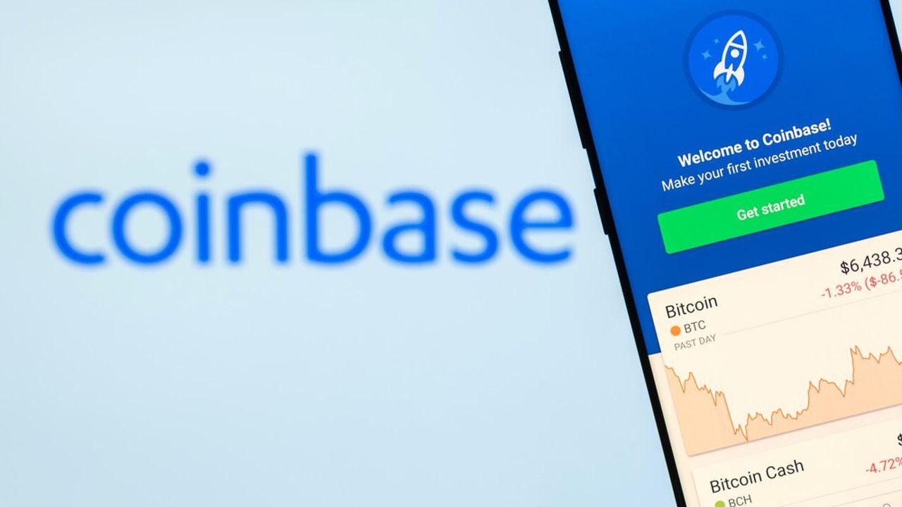 Coinbase, coté sous le symbole COIN, fait d'ores et déjà figure de poids lourd.