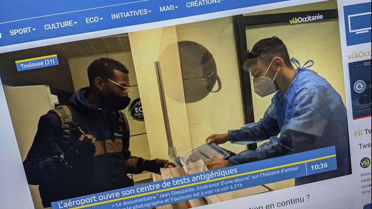 Les journalistes de ViàOccitanie travaillaient déjà dans les locaux des quotidiens régionaux du groupe La Dépêche du Midi.