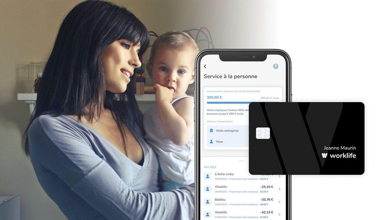 Worklife, la start-up francilienne de 75salariés, propose aux entreprises de financer la garde d'enfants comme pour les titres-restaurant.