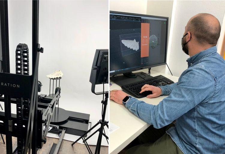 «GenARation» permet de numériser tout objet grâce à une seule caméra.